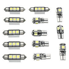 13X Car Interior LED Lights Bulbs Kit White For VW MK5 MKV Golf GTI 2003-2009 /E