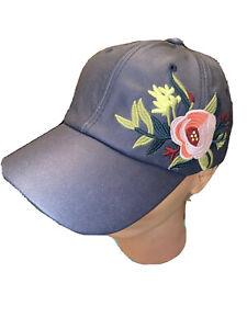 David And Young Rose Floral Baseball Cap Hat