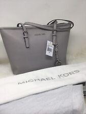 Michael Kors Jet Set Travel , Large Tote PEARL GREY