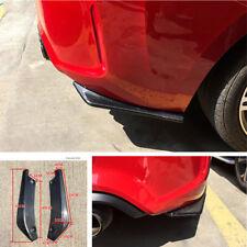 2x Car Bumper Spoiler Rear Lip Wing Diffuser Shovel Scratch Resistant Proctctor