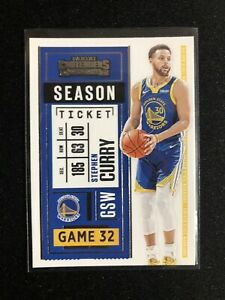 2020-21 Contenders Stephen Curry Basketball Card