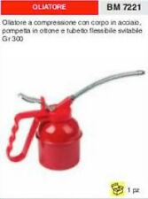 POMPA OLIATORE IN ACCIAIO POMPETTA IN OTTONE tubo smontabile 300 gr