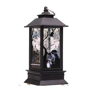Halloween Vintage Pumpkin Castle Light Lamp Party Hanging Decor LED Lantern Hot