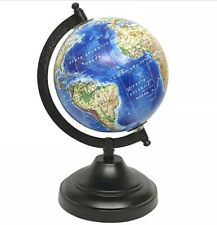 Nauticalia Cook Globe on a turned wooden pedestal 13cm 2842