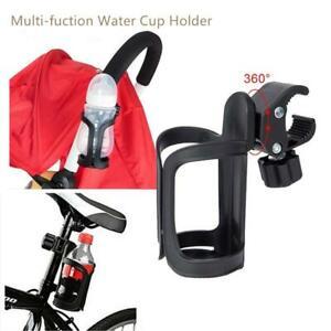 360° Universal Bottle Milk Drink Water Coffee Cup Holder Baby Stroller Pram Bike