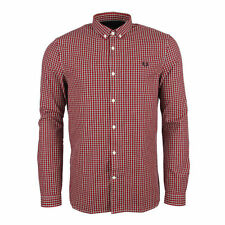 Fred Perry Collared Check Casual Shirts & Tops for Men