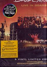"""DAVID GILMOUR """"Live In Gdansk"""" 5 LP-Box Set  RARE sealed US"""