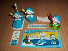 MAXI DORAEMON COMPLETE SET WITH ALL PAPERS KINDER SURPRISE 2017