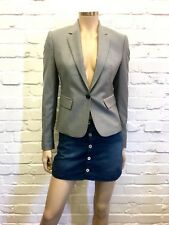 Joseph Beautifully Tailored Fine Weave Wool Blazer UK 8 Excellent Condition