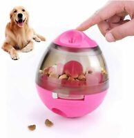 Pet Dog Interactive Tumbler Food Dispenser Feeder IQ Puzzle Treat Ball Toys US