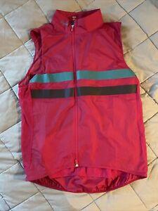 Rapha Brevet Gilet Vest Large Pink