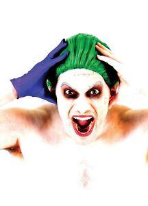 Adult Men's Criminal Mastermind Joker Haha Green Wig Halloween Costume Accessory