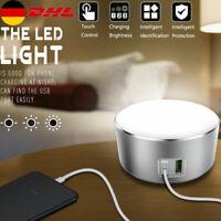 LED Tischleucht Schreibtischlampe Dimmbar Leselampe Nachttisch Touch Schalter