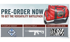BATTLEFIELD HARDLINE PRE-ORDER DLC for Versatility Battlepack  PS3 Playstation 3