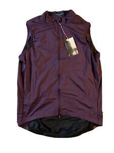 Rapha Pro Team Vest (Gilet) Purple, XL Men's