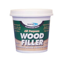 WHITE Multi Purpose Wood Filler Interior & Exterior Waterproof One Part 250ml