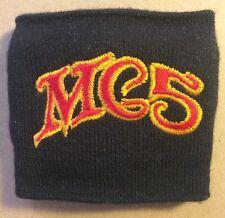 VERY RARE - MC5 (Motor City 5) Embroidered Promotional Wrist Sweatband
