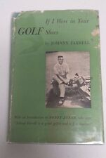 Johnny Farrell Autographed Book If I Were In Your Shoes - Psa/Dna Authenticated