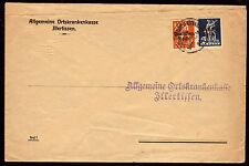 DR 120,123, Brief der Ortskrankenkasse ILLERTISSEN / 22.7.20
