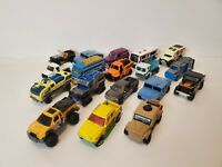 MatchBox TRUCKS BUSES SUVS Vehicles Lot Of 18 Loose Die Cast Vehicles