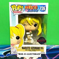 FUNKO POP! NARUTO SHIPPUDEN NARUTO UZUMAKI (SEXY JUTSU) #726 SPECIAL EDITION