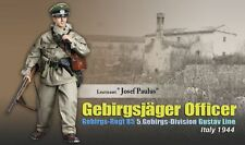 "Dragon 1/6 scale 12"" WW II German Soldier Leutenant Officer Josef Paulus 70854"