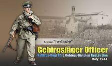 "Dragon 1/6 scale 12"" WW II German Soldier Leutenant Officer Josef Paulus 70854"