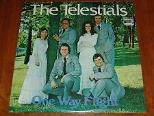 THE TELESTIALS - ONE WAY FLIGHT - VERY RARE 1977 STILL SEALED LP ! ! ! !