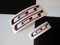 3 Piece GT Performer 4130 BMX Bike Freestyle Bicycle Decal STICKER SET