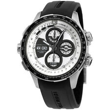 Hamilton Silver Dial Black Silicone Strap Men's Watch H77726351