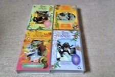 THE WIND IN THE WILLOWS Spring Summer Autumn Winter UK PAL VHS VIDEO 4-Tape Set
