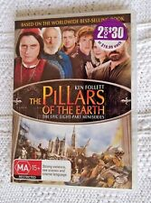 The Pillars Of The Earth (DVD,3-Disc Set) R-4, LIKE NEW, AUS-WIDE  FREE SHIPPING