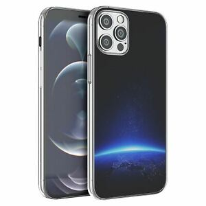 For Apple iPhone 12 Mini Silicone Case Space Galaxy Stars - S4389