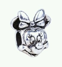 Silver plated minnie mouse disney European charm. Pandoras vault inc