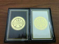 Pga National Golf Club Playing Cards - 2 Decks, New, Sealed