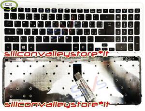 Tastiera Italiana Originale Notebook Acer Aspire V5-531 V5-571 con Frame Silver