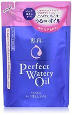 NEW SHISEIDO Senka Perfect watery oil Refill 180ml Cleansing Makeup Remover F/S