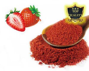 Dried Strawberry Fruit Powder - Lollies Jelly Shakes Cake Ice Creams
