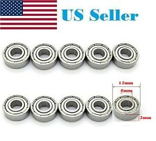 10X 696-2Z 696ZZ Miniature Skate Board Bearings Ball Mini Bearing 6 X 15 X 5mm