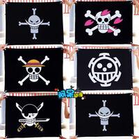 Anime One Piece Pirate Flag Cosplay Prop Trafalgar Law Zoro Straw Hat Skull Flag