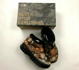 Supreme The North Face Nuptse Boots Mens Size 10 Camo Leaves F/W 2016 Release