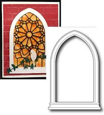 Window Die - GRAND GOTHIC WINDOW - POPPY STAMPS 845 All Occasion frame