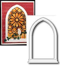Window Die Grand Gothic Window Poppystamps metal dies 845 All Occasion frame