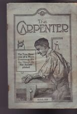 The Carpenter Magazine United Brotherhood March 1919