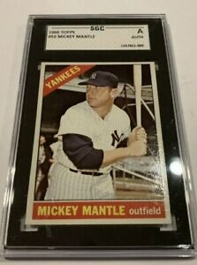 1966 Topps Mickey Mantle #50 Baseball Card