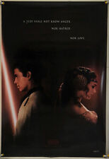 STAR WARS EPISODE II ATTACK OF THE CLONES DS ROLLED ADV ORIG 1SH MOVIE POSTER