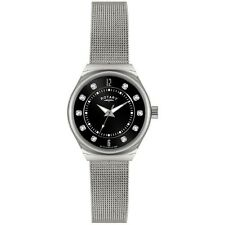 Rotary Signore in Acciaio Inox Crystal Mesh Bracelet Watch lb00033/19