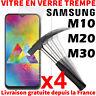 VERRE TREMPÉ SAMSUNG GALAXY M10 M20 M30 PROTECTION ÉCRAN VITRE FILM SCREEN GLASS