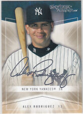 Alex Rodriguez YANKEES AUTOGRAPH ICS Skybox SIGS Baseball Card NEW YORK AROD!