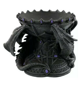 Dragon Beauty Crystal Ball Holder By Anne Stokes Nemesis Now Divination UK